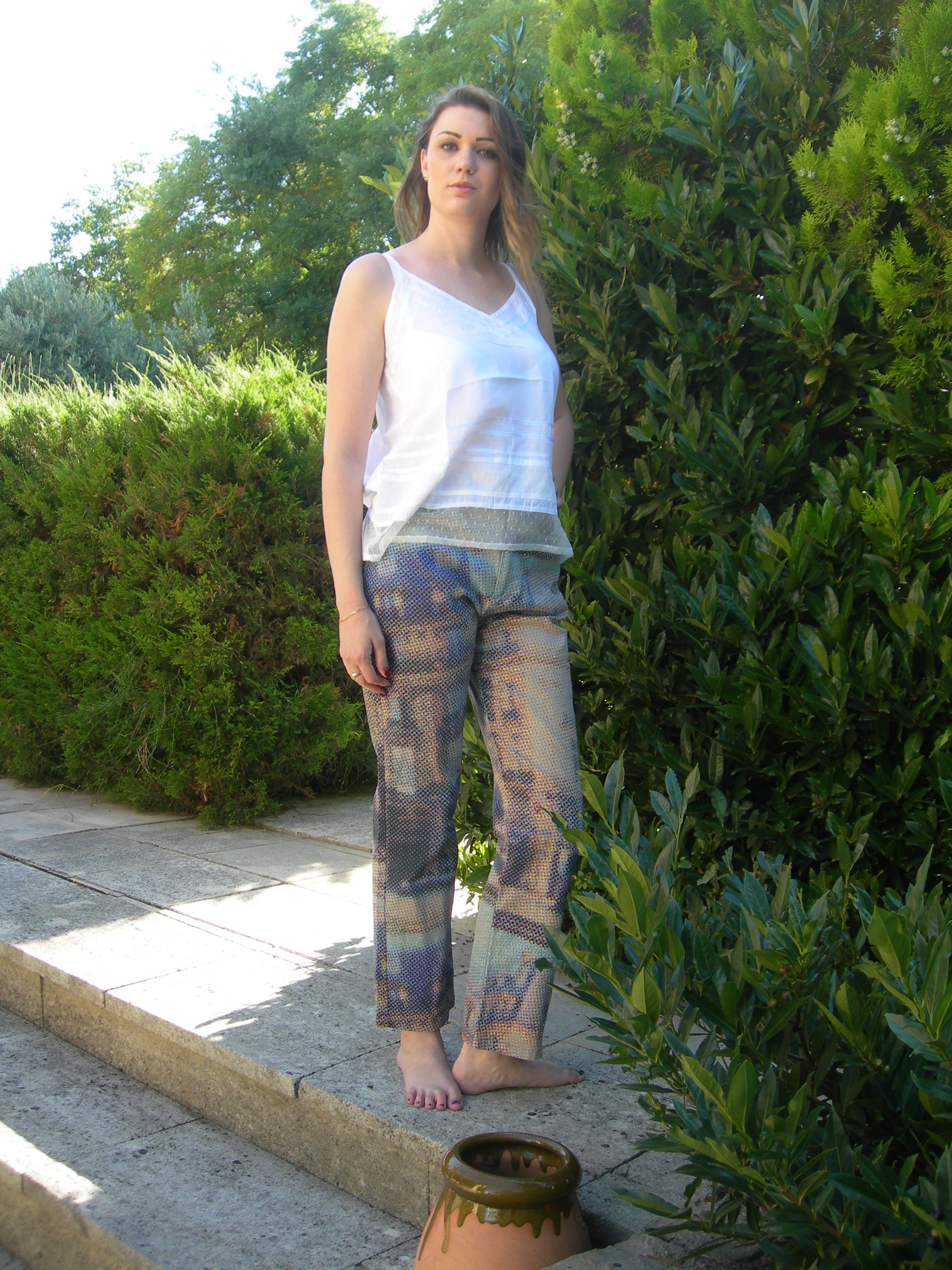 PANTALON KENZO JUNGLE VINTAGE - OCCASION