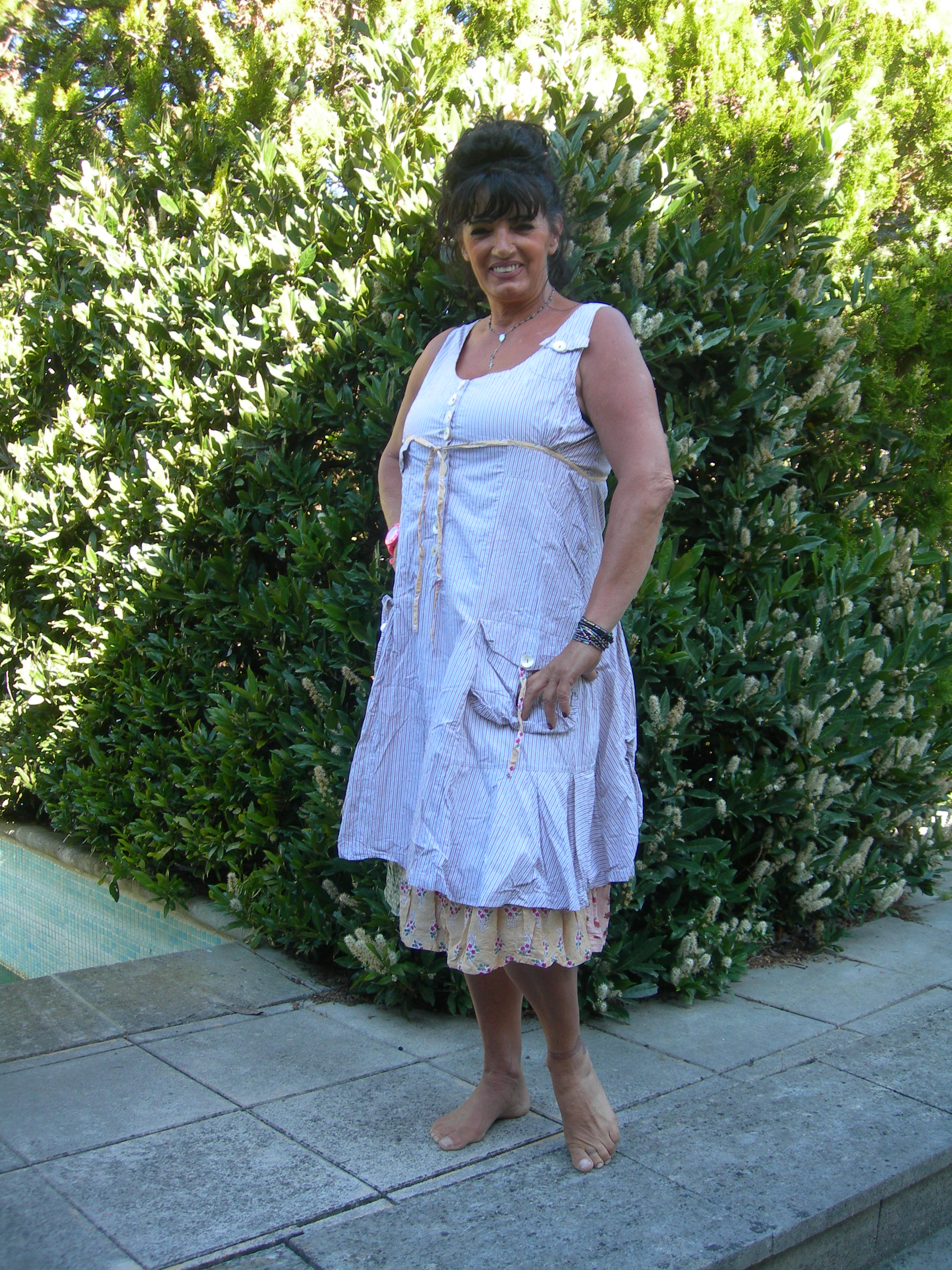 DRESS OFELIA DE NADIR POSITANO
